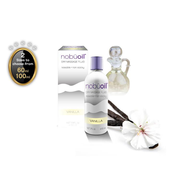 nobüoil – Dry Massage Fluid – Vanilla – 60ml