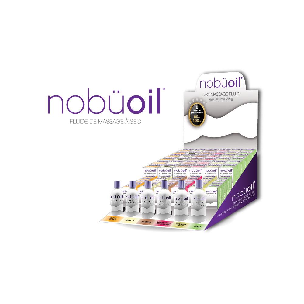 nobüoil – Dry Massage Fluid Display