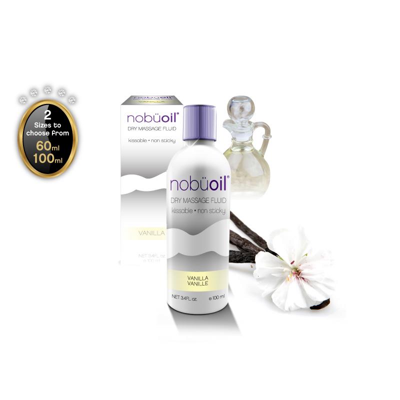 nobüoil – Dry Massage Fluid – Vanilla – 100ml