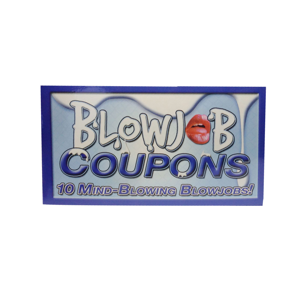 Blowjob Coupon 29
