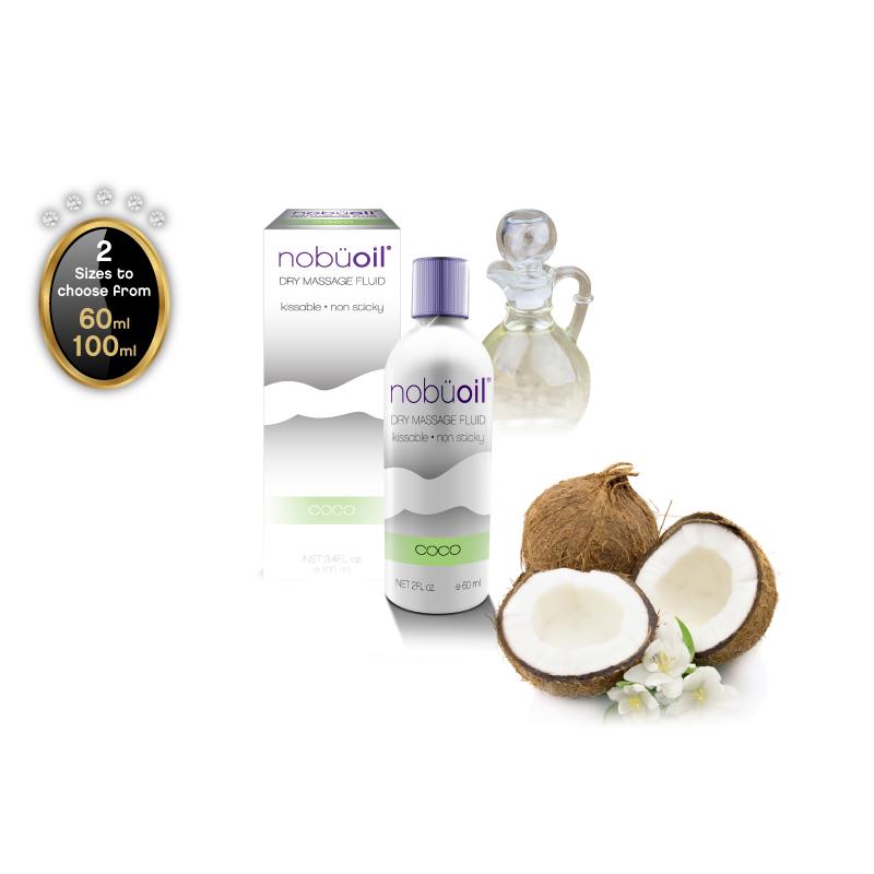 nobüoil – Dry Massage Fluid – Coco – 60ml