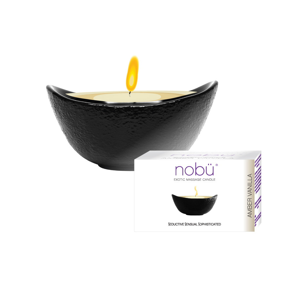 nobü – Exotic Massage Candle – Amber Vanilla