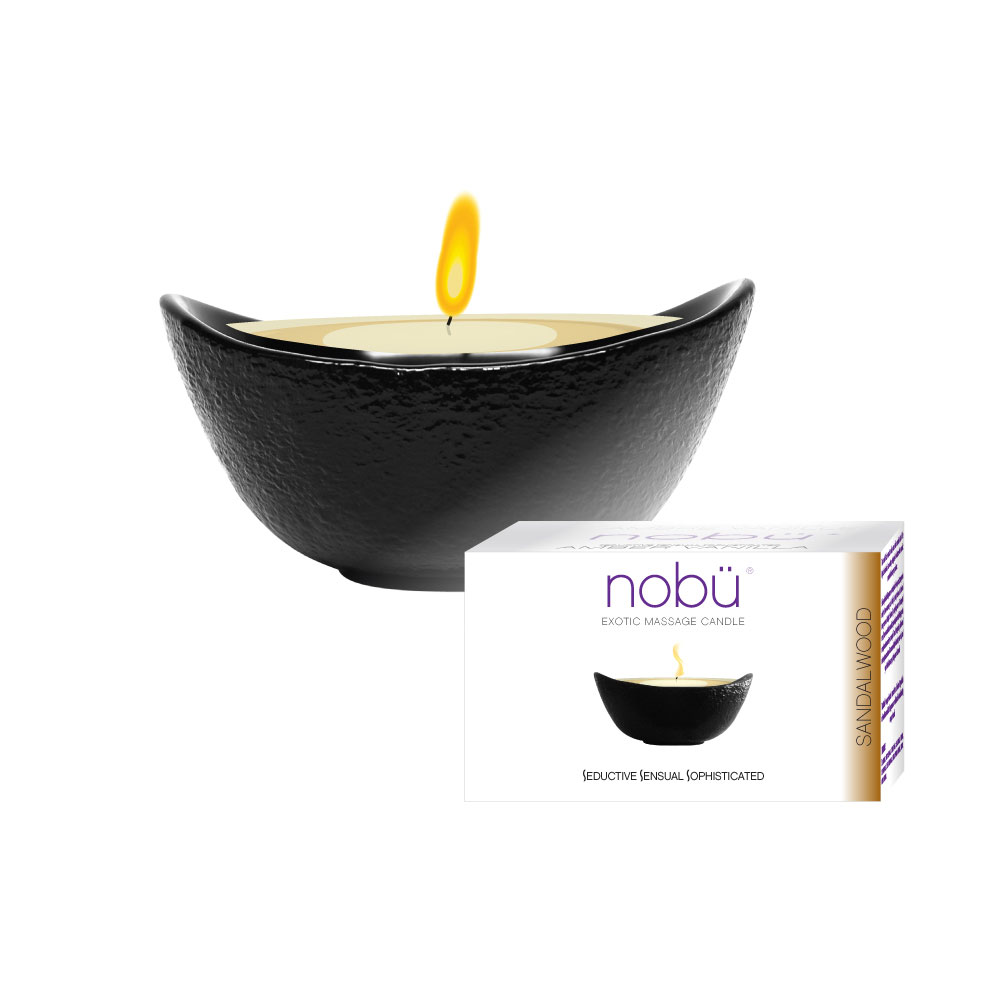 nobü – Exotic Massage Candle – Sandalwood
